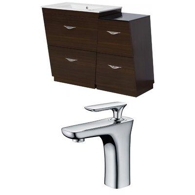 Dudelange 43 Single Bathroom Vanity Set