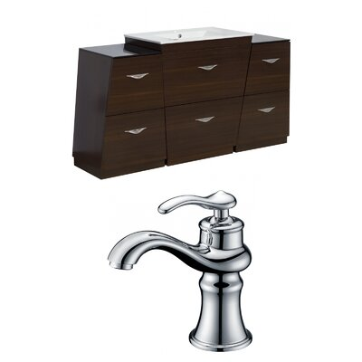 Dudelange 62 Single Bathroom Vanity Set