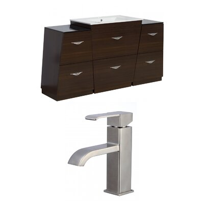Dudelange 62 Single Bathroom Vanity Set