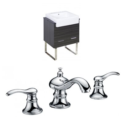 Hindman 25 Single Bathroom Vanity Set
