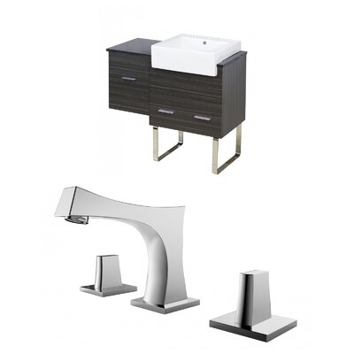 Hindman 37 Single Bathroom Vanity Set