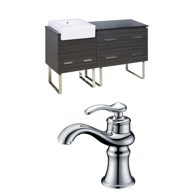 Hindman 61 Single Bathroom Vanity Set