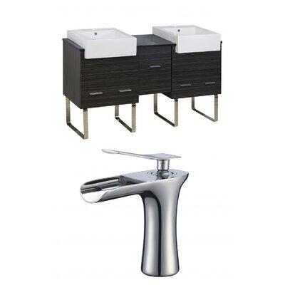 Hindman 60 Double Bathroom Vanity Set