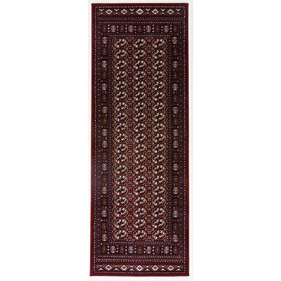 Caledonian Red Area Rug Rug Size: Runner 27 x 76