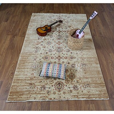 Serafina Ivory Area Rug Rug Size: Rectangle 41 x 6