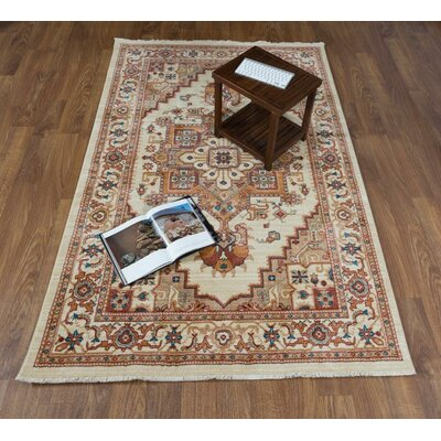 Ridgeway Ivory Area Rug Rug Size: Rectangle 41 x 6