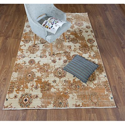 Serina Brown Area Rug Rug Size: Rectangle 5 x 8