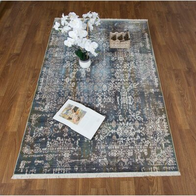 Salena Gray Area Rug Rug Size: Rectangle 8 x 102