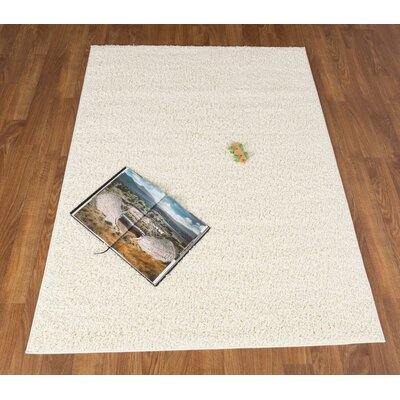 Washington Mews Shag Cream Area Rug