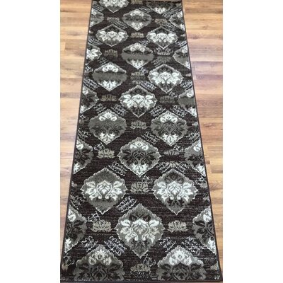 Senaida Brown Area Rug Rug Size: Runner 2'7