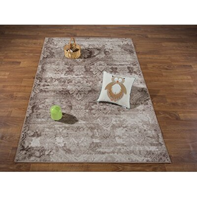 Brinkley Brown/Beige Area Rug Rug Size: Rectangle 311 x 511