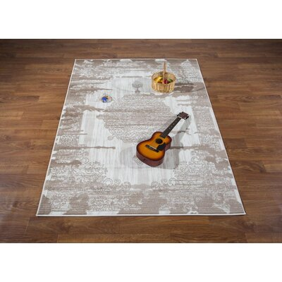 Senaida Cream Area Rug Rug Size: Rectangle 710 x 10
