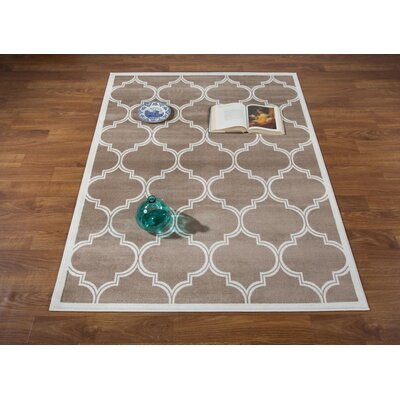 Hamlet Trellis Cream Area Rug Rug Size: Rectangle 710 x 10
