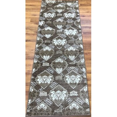 Senaida Brown Area Rug Rug Size: Runner 27 x 76