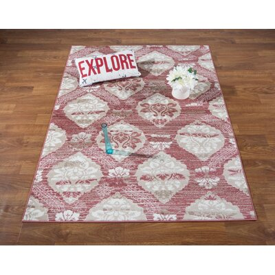 Senaida Pink Area Rug Rug Size: Rectangle 710 x 10