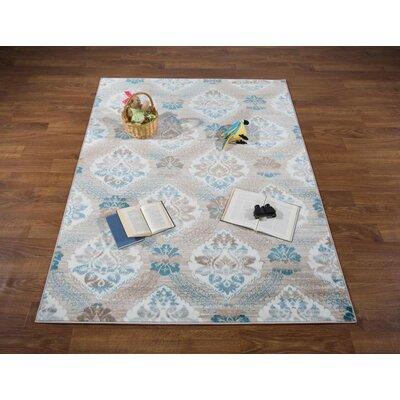 Senaida Blue Area Rug Rug Size: Rectangle 710 x 10