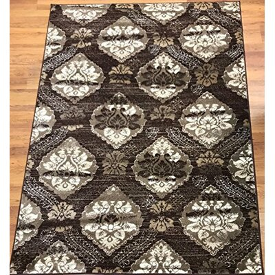 Senaida Brown Area Rug Rug Size: Rectangle 710 x 10