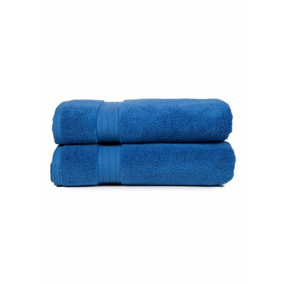 Morton Bath Towel Color: Blue