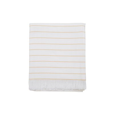 Sedwick Beach Towel Color: Yellow