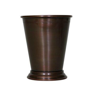 Blondelle Beaded Mint 14 oz. Copper Julep Cup Finish: Antique Copper WLFR6521 45347084