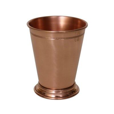 Blondelle Beaded Mint 14 oz. Copper Julep Cup Finish: Shiny Copper WLFR6521 45347083