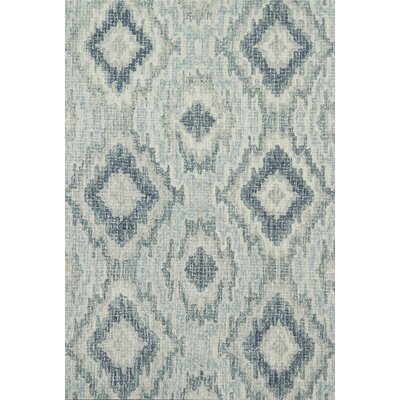 Zeinab Hand Hooked Wool Area Rug Rug Size: Rectangle 79 x 99