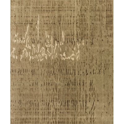 Shaunda Hand-Knotted Burlywood Area Rug Rug Size: Rectangle 2 x 3