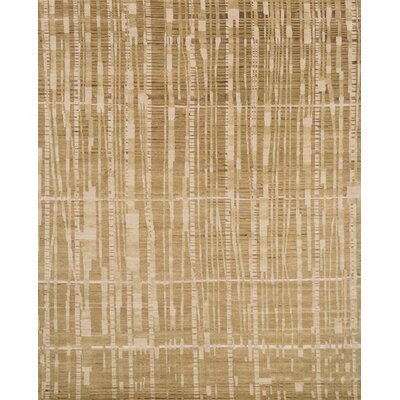 Shaunda Hand-Knotted Amber Area Rug Rug Size: Rectangle 2 x 3