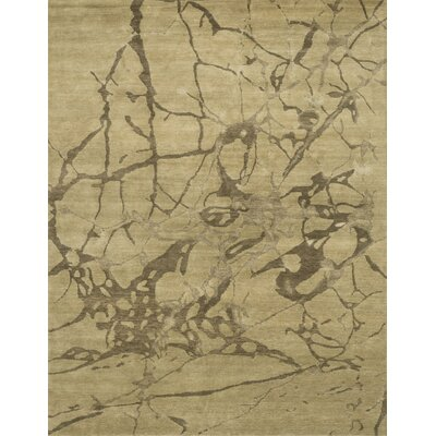 Pickrell Hand-Knotted Beige Area Rug Rug Size: Rectangle 2 x 3