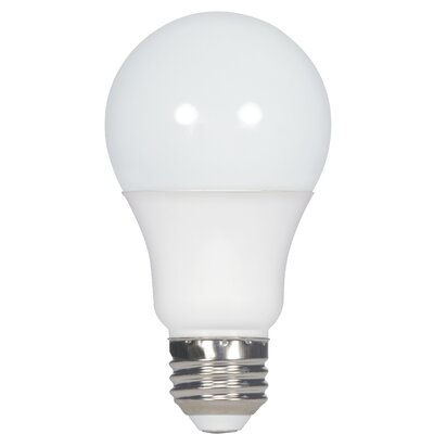 E26 Medium Standard LED Light Bulb Wattage: 8.5, Bulb Temperature: 3000K
