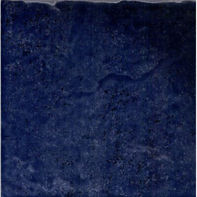 Seabreeze 6 x 6 Porcelain Field Tile in Midnight Blue (Set of 44)