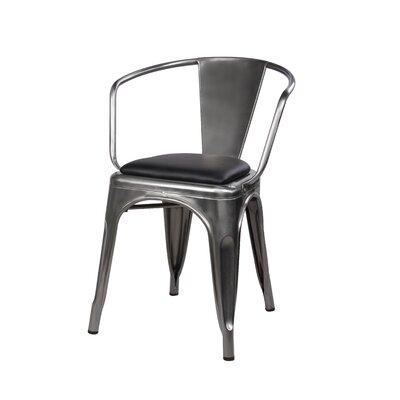 Anni Metal Dining Chair Color: Gunmetal