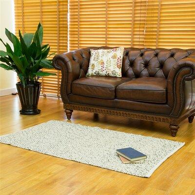 One-of-a-Kind Erdman Hand Woven Wool/Cotton Beige Area Rug