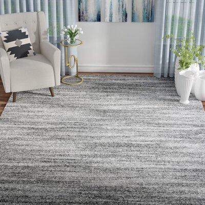 Marlinton Gray Area Rug Rug Size: 8 x 10