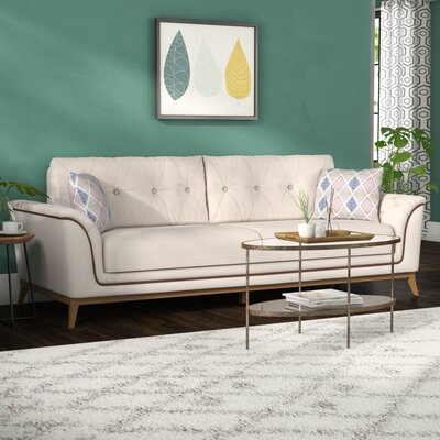 Alextown Sofa Upholstery: Cream