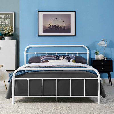 Maisie Bed Frame Color: White