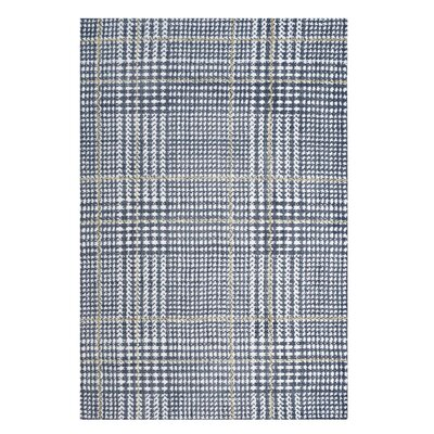Wieland Ivory/Cadet Blue Area Rug Rug Size: Rectangle 8 x 10