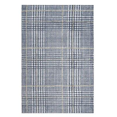 Wieland Ivory/Cadet Blue Area Rug Rug Size: Rectangle 5x 8