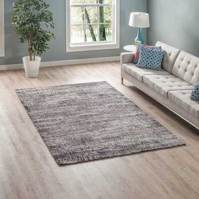 Bonney Light/Dark Gray Area Rug Rug Size: Rectangle 8 x 10