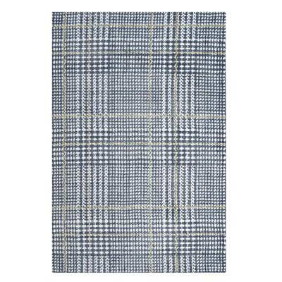 Wieland Ivory/Cadet Blue Area Rug Rug Size: Rectangle 5x 8