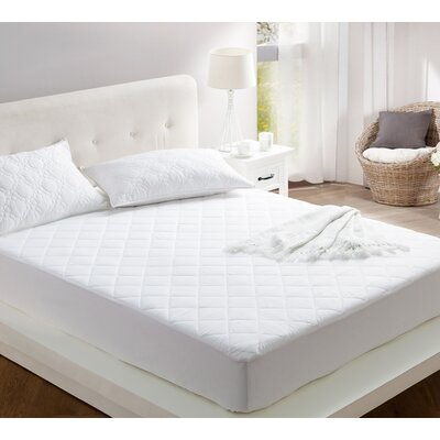 All Around Cotton Mattress Pad Bed Size: Queen