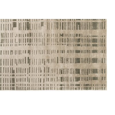 Burcet Hand-Knotted Pewter Area Rug Rug Size: Rectangle 10 x 136