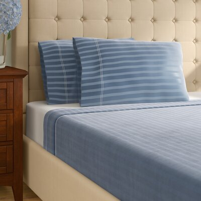 100% Cotton Sheet Set Size: Queen, Color: Light Blue