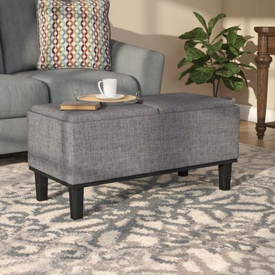Leyba Storage Ottoman Finish: Gray