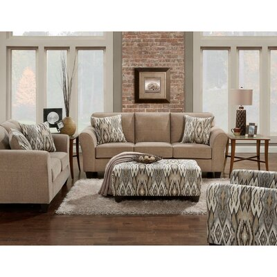 Weeden 2 Piece Living Room Set Upholstery: Tan