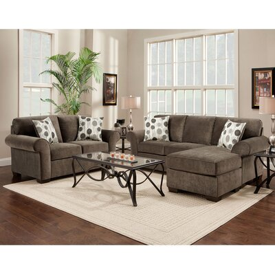 Dennet 2 Piece Living Room Set