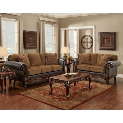Jefferson 2 Piece Living Room Set