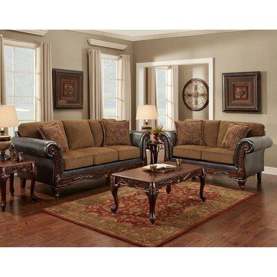 Jefferson 3 Piece Living Room Set