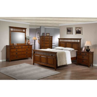 Shreyas Platform 5 Piece Bedroom Set Bed Size: King