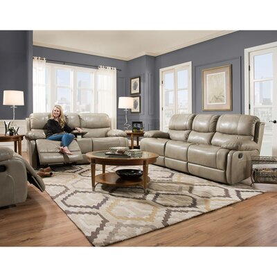Weccacoe 3 Piece Living Room Set